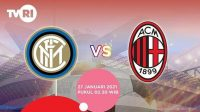 live streaming Inter vs AC Milan di TVRI