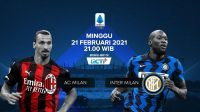 Link Live Streaming AC Milan vs Inter Milan di RCTI